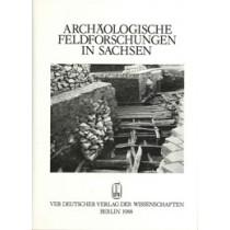 Arbeits- und Forschungsberichte zur sächsischen Bodendenkmalpflege, Beiheft 18, 1988: »Archäologische Feldforschung in Sachsen«